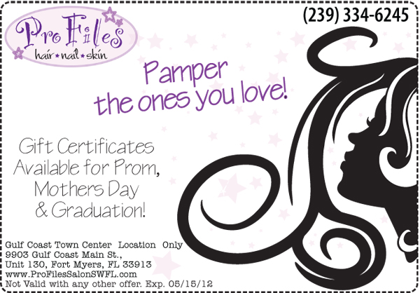 spa gift certificate template word - april specials pro files beauty blog