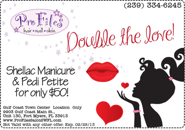 Valentine's Specials Salon