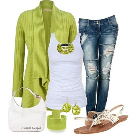 Green Fashion Ideas