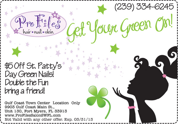 Nail Specials for March