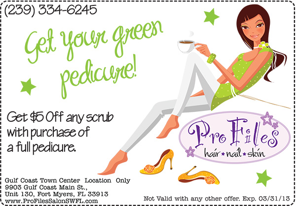 St. Patrick's Day Pedicure