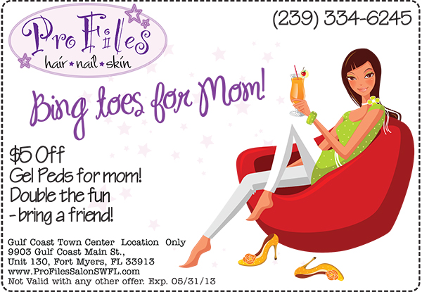 Bling Toes for Mom!