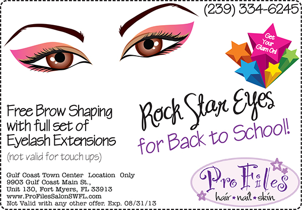 Free Brow Shaping!