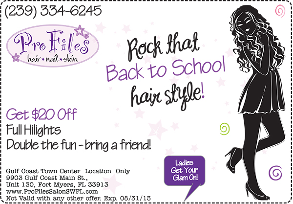 Back to School Hair Specials