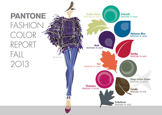 2013 Fall Fashion colors
