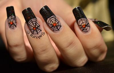 Halloween Spooky Nail Designs