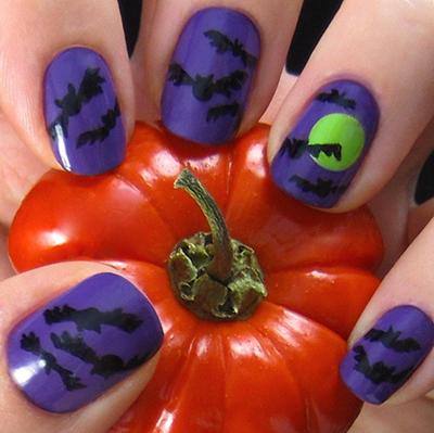 Halloween SWFL Nails