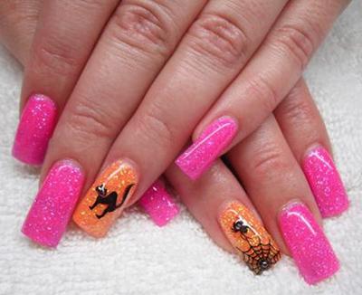 Halloween Nails SWFL
