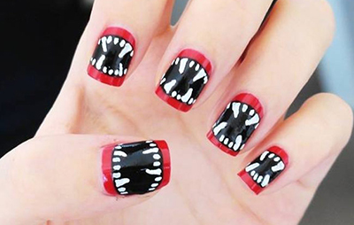 1 Halloween Nails