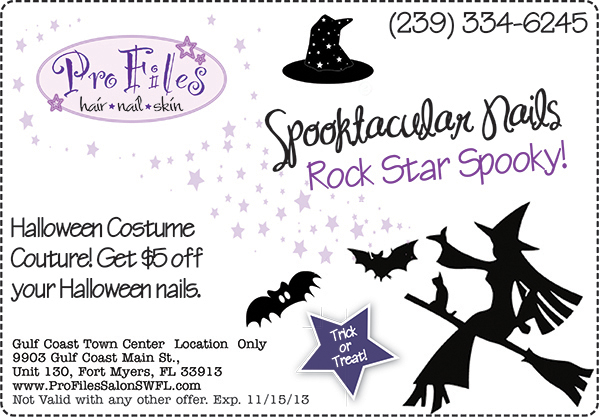 Halloween Nails SWFL Coupon
