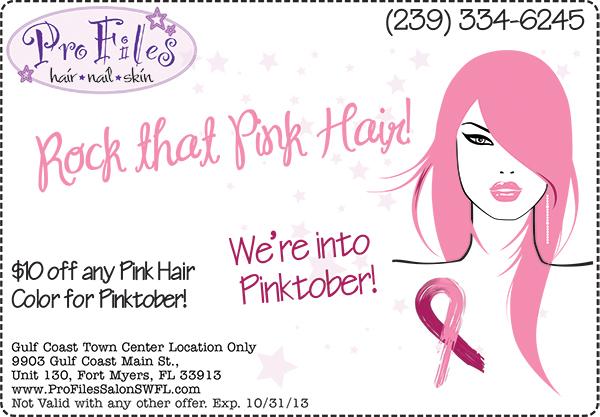 Pink Hair Pinktober