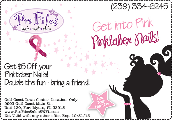 2013 Pinktober Coupon