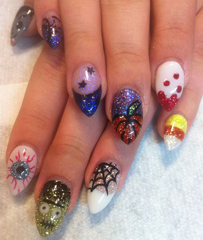 Halloween Nails by Amanda 4 a