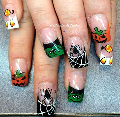 Halloween Nails by Lauren 4 a