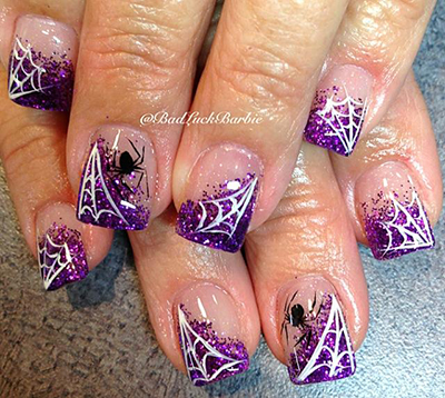 Halloween Nails by Lauren 6 a