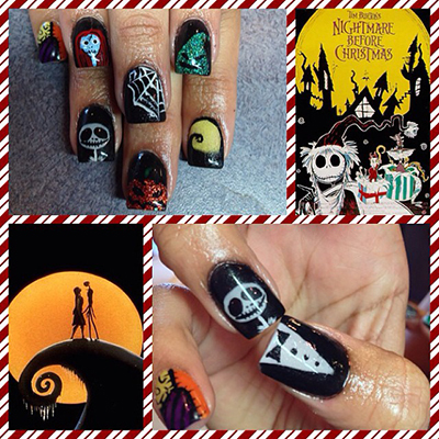 Halloween Nails by Sam a