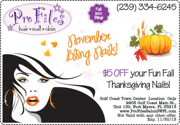 November Nails Special Gulf Coast Town Center