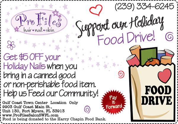 2013 Holiday Food Drive SWFL