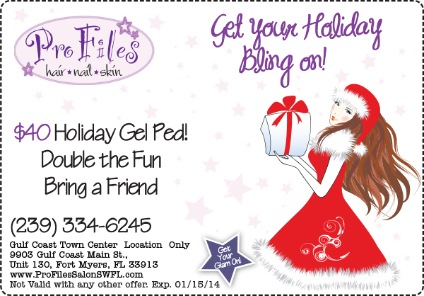 2013 Holiday Toes Coupons