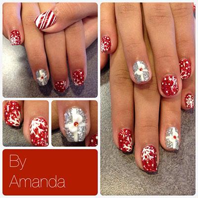 Amanda Christmas Nails