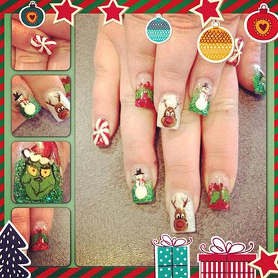 Lauren Christmas Nails