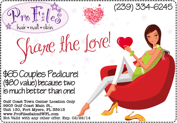 2014 Valentines Couples Pedicure
