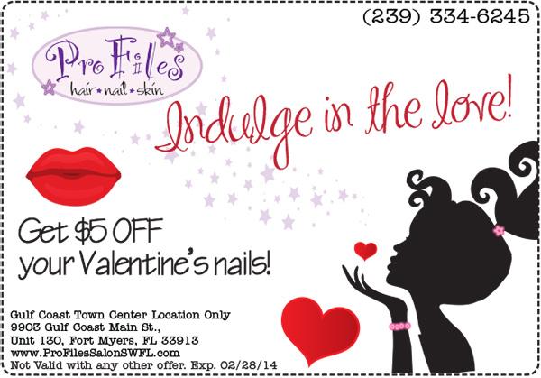 2014 Valentines Nails