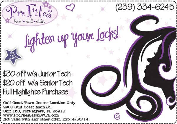 2014 April hair coupon