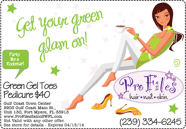 March Gel Toes Pedicure Special SWFL