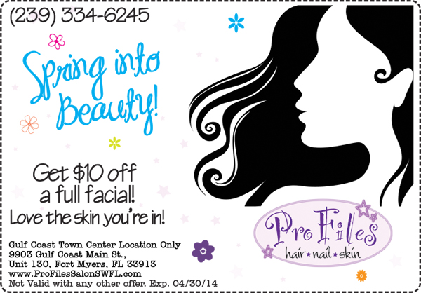 Spring Skin Special Pro Files Salon SWFL
