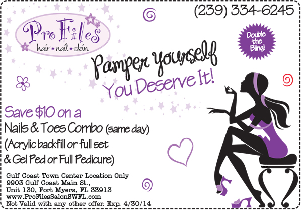 April Nails and Toes Combo Coupon