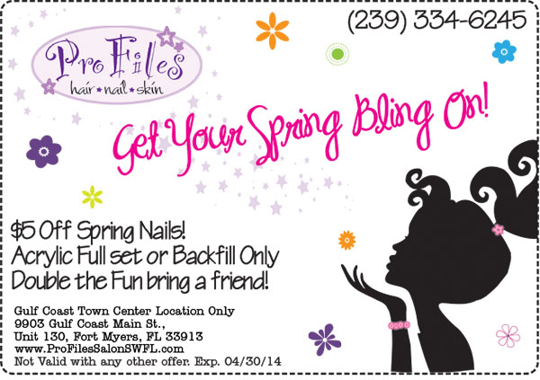 2014 Spring Nails Coupon