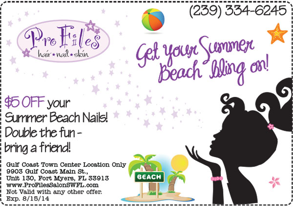 Summer Specials Nails Fort Myers