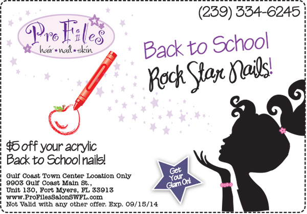 Back to School Nails Special